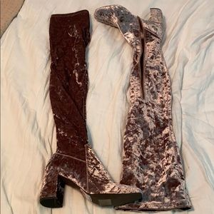 Jeffery Campbell over-knee boots